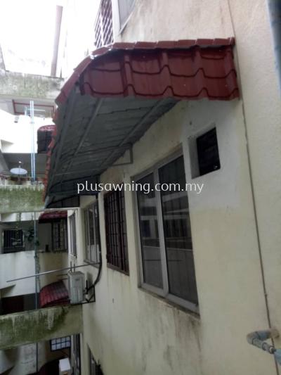 Metal Roofing @Pangsapuri Wira, Jalan Tun Perak 1, Taman Tun Perak, Cheras