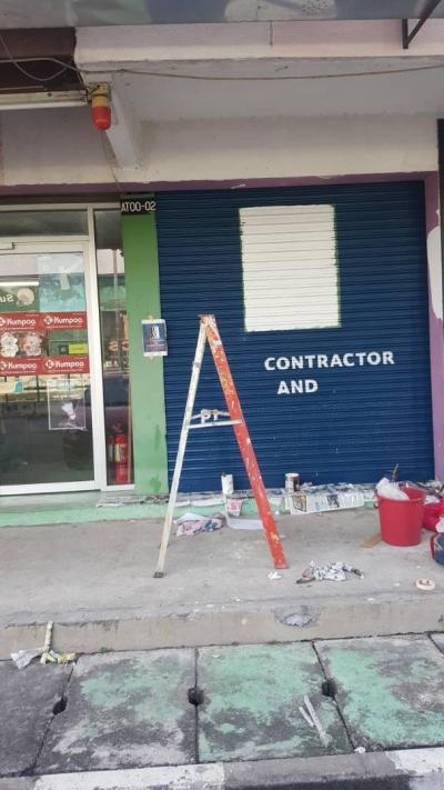 Roller Shutter Paint OTH Contractor