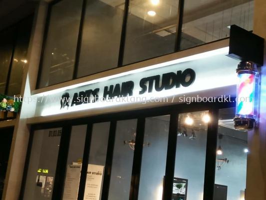 Adz's Hair studio 3D EG box up lettering sigange signboard at subang jaya Kuala Lumpur