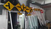 Road sign JKR ROAD SIGN (JKR) MALAYSIA 3M HIP REFLECTIVE
