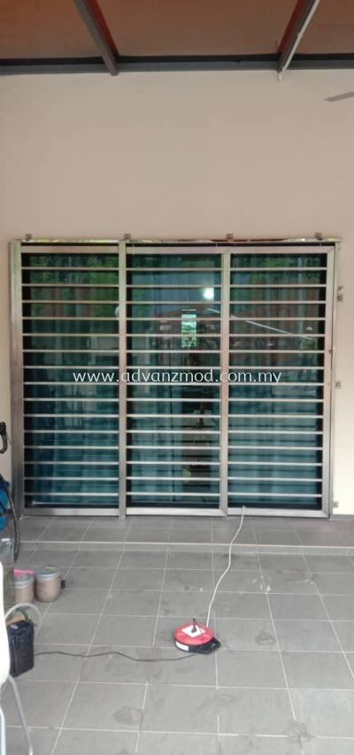 Stainless Steel Highline Grille Door