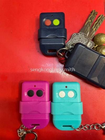 Duplicate gate remote control