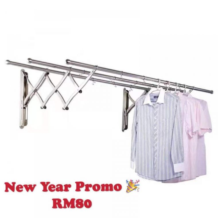 Wall Outdoor Extention Clothes Horse