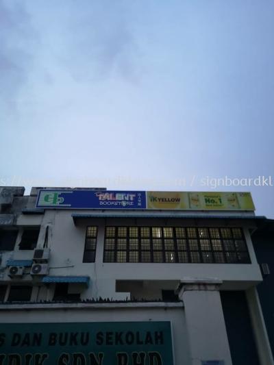 Light box signboard signage maker manufacturer in klang and Kuala Lumpur
