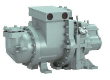 Hitachi Screw Compressor ASCCW-Z  40 ~ 100 RT