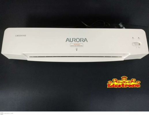 AURORA A3 HOT LAMINATOR OPERATING INSTRUCTION LM3241HS