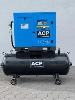"( 2 In 1 ) 10.0HP ""ACP"" DIRECT DRIVE ROTARY SCREW AIR COMPRESSOR C/W 300L HORIZONTAL TANK, MODEL: RS 10A - P/300"