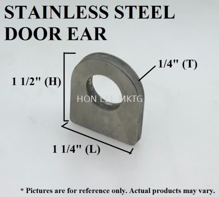 STAINLESS STEEL DOOR EAR
