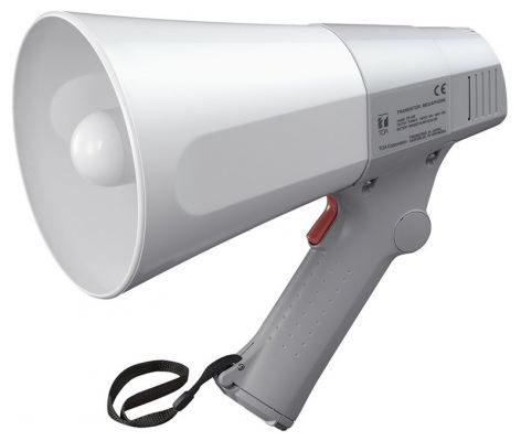ER-520 (10W max.) TOA Hand Grip Type Megaphone. #AIASIA Connect