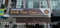 ZAB THAI THAI Lightbox Signboard Light Box