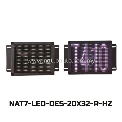 REAR LED DES.BOARD(20X32)FULL COLOUR