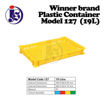 Winner Plastic Container Model 127