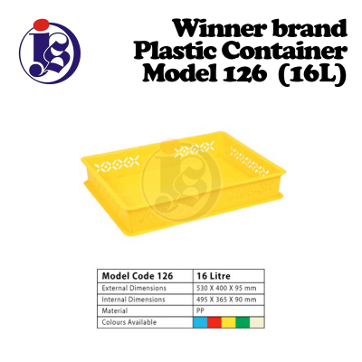 Winner Plastic Container Model 126