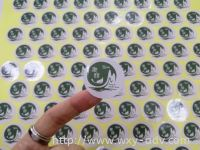 Kang He Health Food Label Sticker