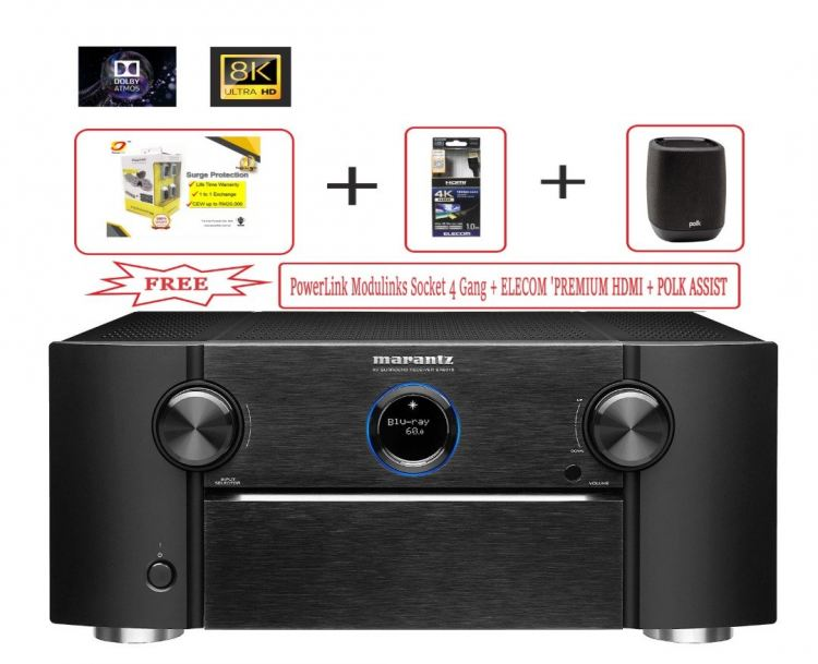 marantz sr 7015 9.2ch. 8K AV Receiver with HEOS® Built-in and Voice Control