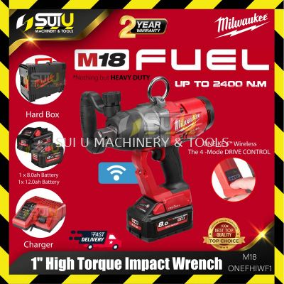 Milwaukee M18 ONEHIWF1-802X M18 Fuel™ One-Key™ 1�� High Torque Impact Wrench with Friction Ring