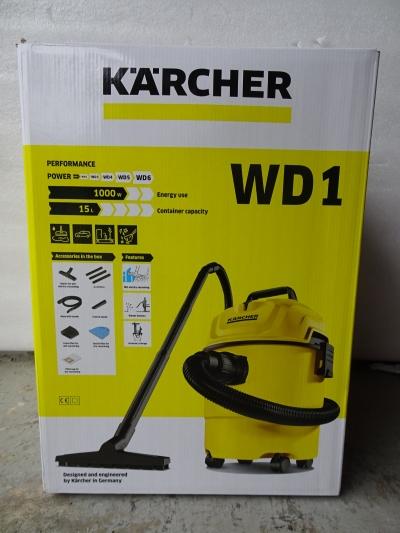 KARCHER WD 1 * KAP WET & DRY VACUUM CLEANER + BLOWING (P/NO:1.098-300.0)