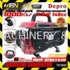 DEPRO TK1000 1.0kW 3.5HP Portable 4-Stroke Gasoline Generator  - 100% Cooper 1000w Depro Generator