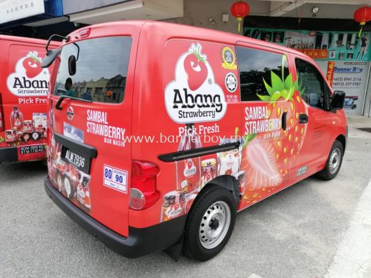 Food truck sticker / Lorry Sticker / Car wrapping / Food truck wrapping