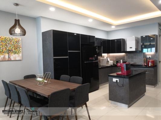 Penang The Clovers Taman Sri Bayan Finished Interior Design Renovation Ideas Samples