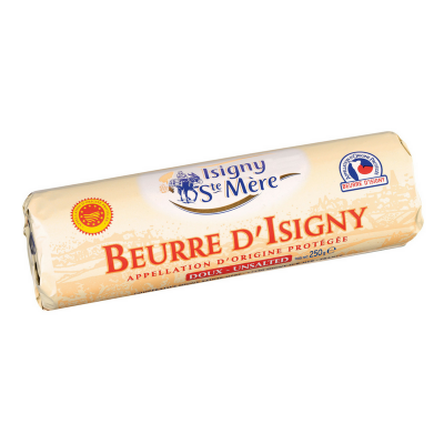 ISIGNY UNSALTED BUTTER 250GM