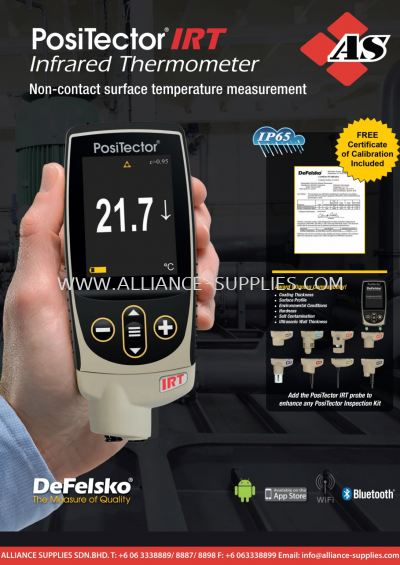 3.2.3 PosiTector® IRT Infrared Thermometer