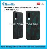 HUAWEI ORIGINAL P30 WIRELESS CHARGING CASING (SPARKLE BLUE)