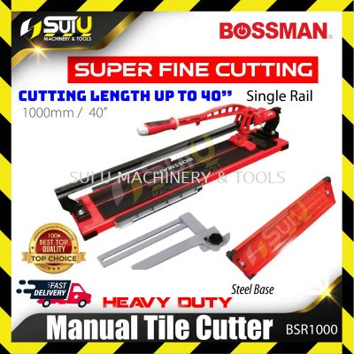 BOSSMAN BSR1000 Manual Tile Cutter with Single Rail 1000mm
