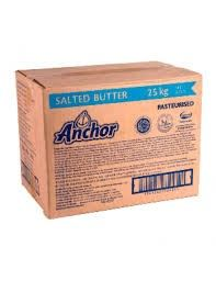 ANCHOR SALTED BUTTER 25KG