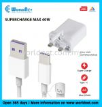 HUAWEI ORIGINAL CHARGER SUPERCHARGE MAX 40W
