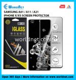 TITAN 9H SCREEN PROTECTOR TEMPERED GLASS ( SAMSUNG A01S / A11 / A21 / IPHONE X/XS