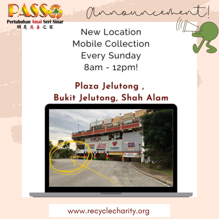 NEW LOCATION FOR MOBILE COLLECTION
