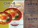 OK-4 YU SANG TRAY (100 PCS) COMPARTMENT / YU SANG CONTAINER MICROWAVEABLE PLASTIC CONTAINNER