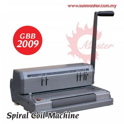 Spiral Binding Machine (GBB2009)