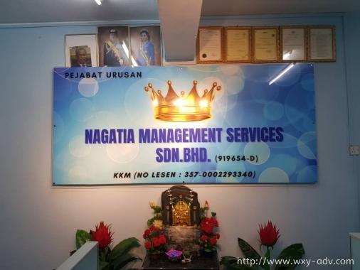 NAGATIA MANAGEMENT SERVICES SDN. BHD. Inkjet Sticker
