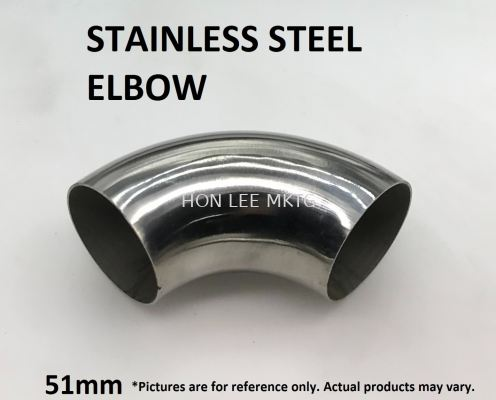 [51mm] STAINLESS STEEL ELBOW