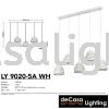 PENDANT LIGHT (LY9020-5LB-WH) Loft Design PENDANT LIGHT