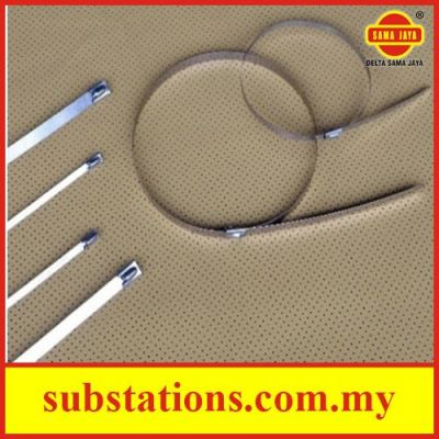 Stainless Steel Cable Ties - Ball Lock Type (AISI. 304 & 316)