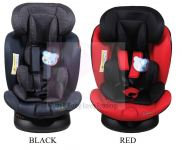 CAR SEAT HB636 - (0-36Kg ) BLACK,RED