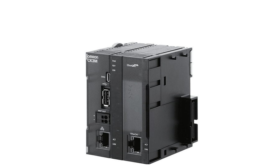 OMRON CK3M-CPU1[]1 Multi-axis control with a fastest servo cycle time of 50 μs/5 axes enables precision ma