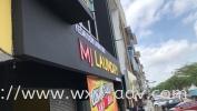 MJ LAUNDRY PVC signboard PVC Board Emboss Wording / Logo Signboard