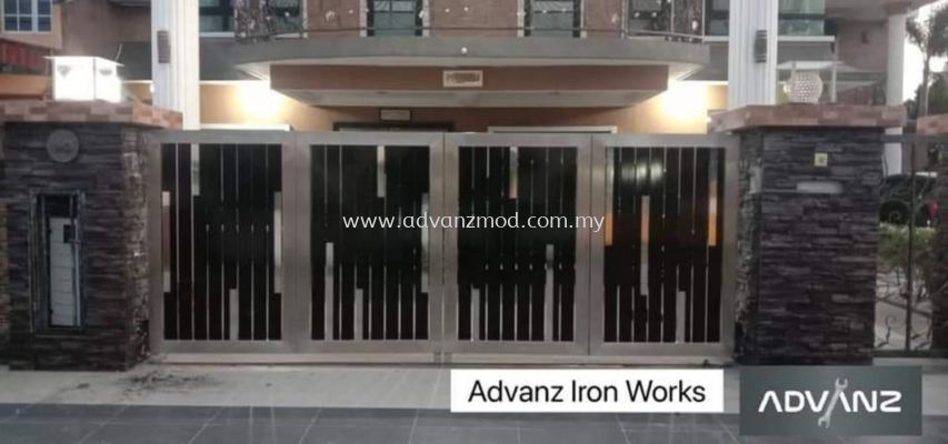 Stainless Steel Gate With 4 inch Frame