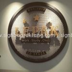 pvc board 3D cut out lettering indoor signage