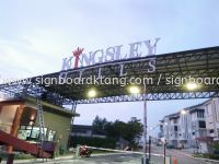 Kingsley Hills 3D led conceal box up lettering sigange at puchong Kuala Lumpur