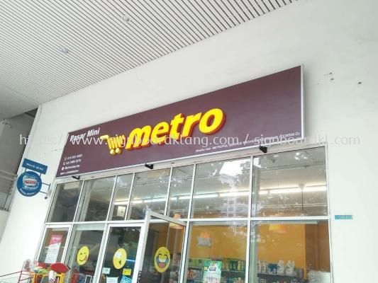 3D LED box up frontlit siganage at klang Kuala Lumpur