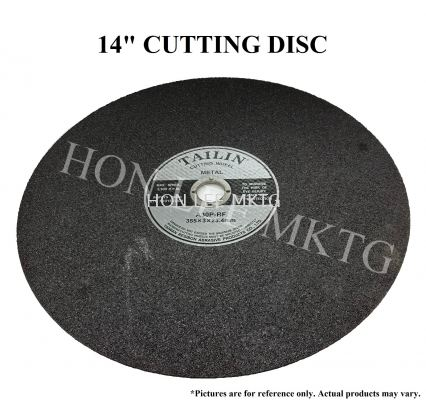 "14"" CUTTING DISC"