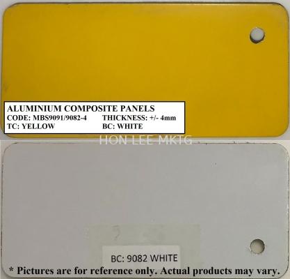 TC: MBS9091 YELLOW BC: 9082-4 WHITE