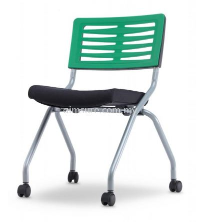 Low back folding chair without armrest AIM2S-AXIS