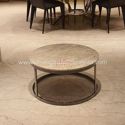 Round Marble Coffee Table | Cash & Carry | Cristallo | RM899