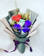 I Love U Valentine Bouquet 01